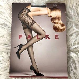 Falke Sz U.S. Small Textured Hosiery Pantyhose